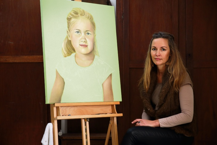 Applecross resident Daniela Dlugocz has artwork featured in the City of Melville's Annual Art Awards exhibition. Picture: Martin Kennealey