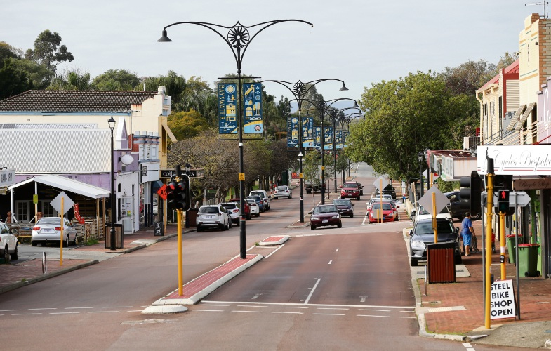 King William Street in Bayswater. Picture: David Baylis