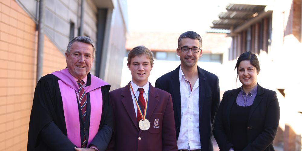 Scotch College student brings home silver from International