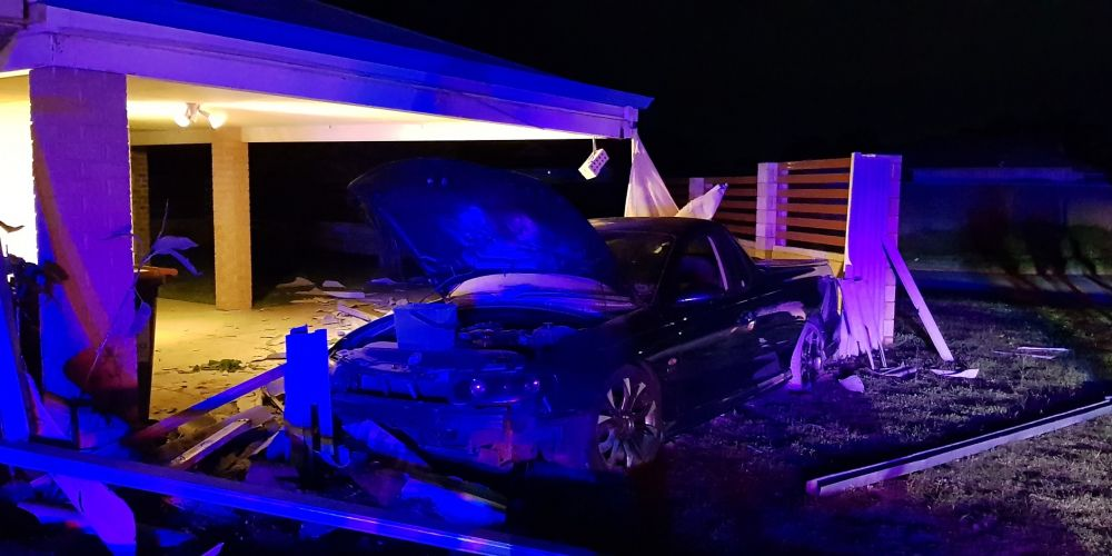 Port Kennedy teen charged after car crashes into a Warnbro house