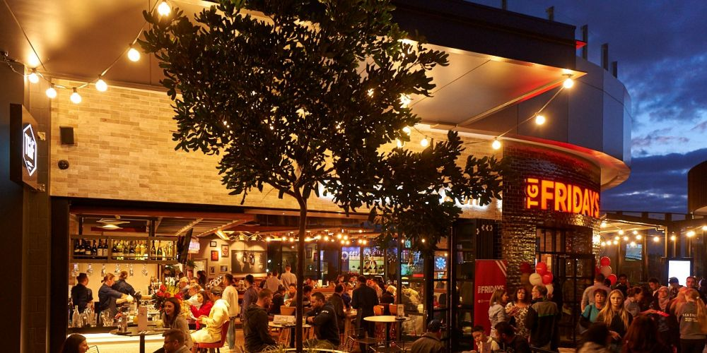TGI Fridays first outlet opened in Perth at Westfield Carousel on Thursday.