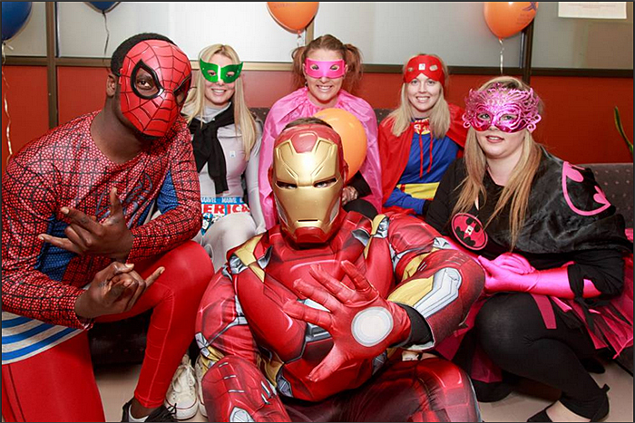 People will be dressed up as their favourite masked crusader for National Superhero Week in September to raise money for Muscular Dystrophy Australia. Pic: mycause.com.au.