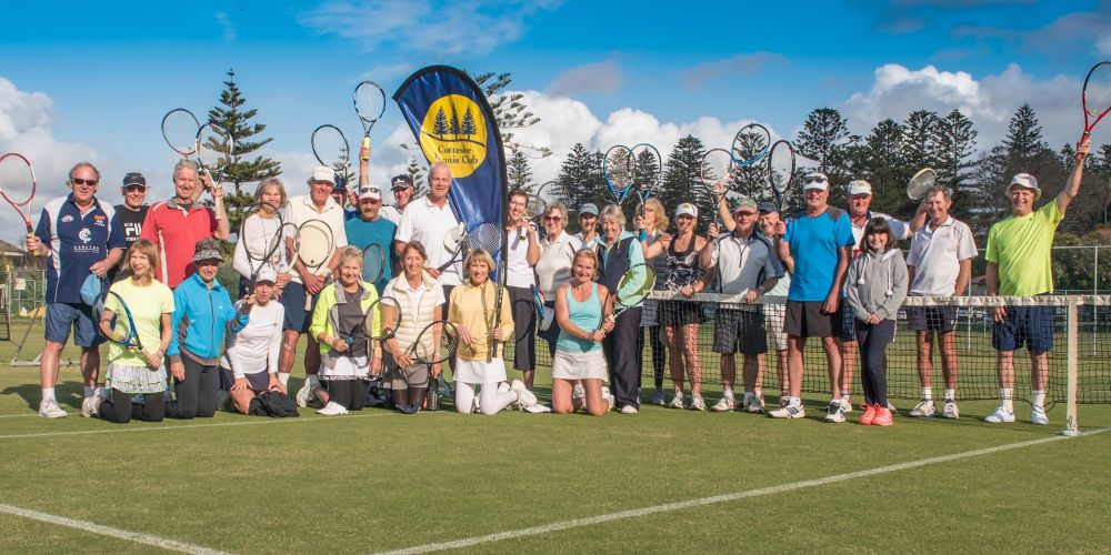 Cottesloe tennis club members are ready for the annual open days.
