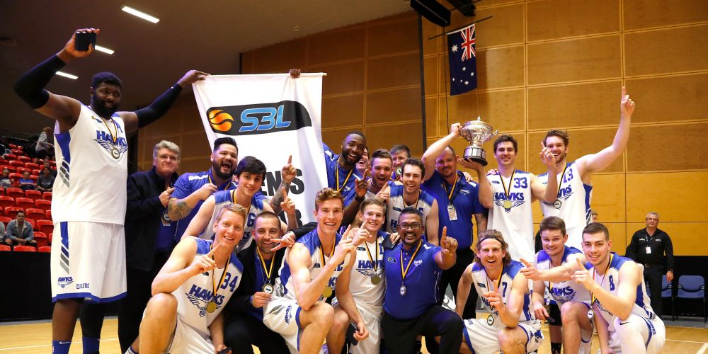 The championship team. Picture: Michael Farnell, sportsimagery.com.au
