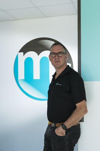 Grant Jones, chief executive of Massage Club Australia. Picture: Will Russell.