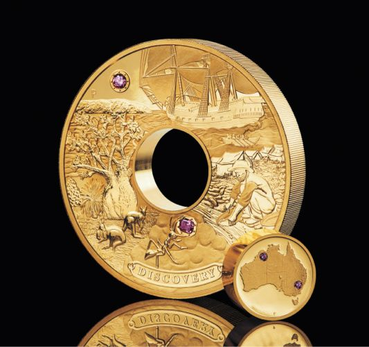 The Discovery Coin, worth $2.48 million.