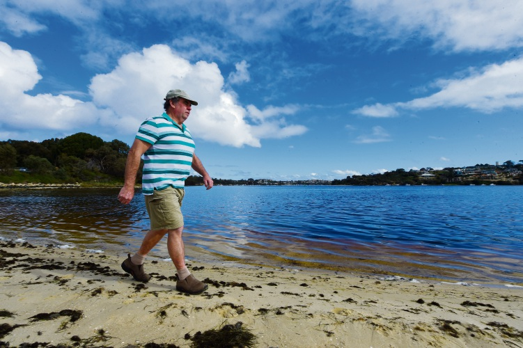 Bicton resident Dave Morse is among the people taking part in the Parkinson's WA fundraiser A Walk in the Park. Picture: Jon Hewson.