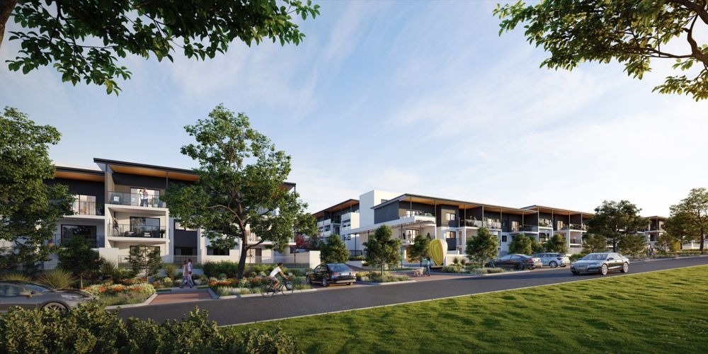 Finbar are also offering low deposits for first-home buyers at their Palmyra Apartments and Vue Tower developments.