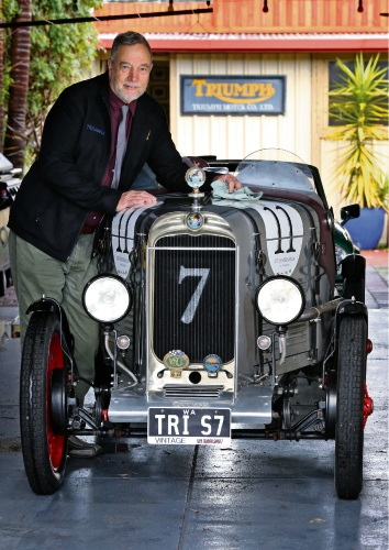 The Pre-War Sports Car Club is holding its 20th anniversary run starting from Oakover Estate on September 6.