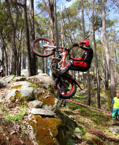 Neil Price is gearing up for the 2018 State Mototrials Championships.
