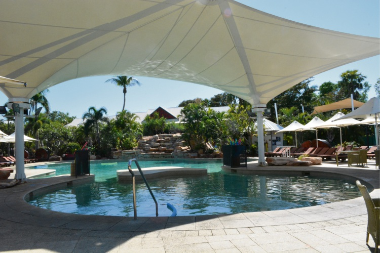 The family pool at Cable Beach Club Resort and Spa