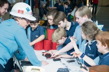 Mundaring Christian College students try different communication tools.