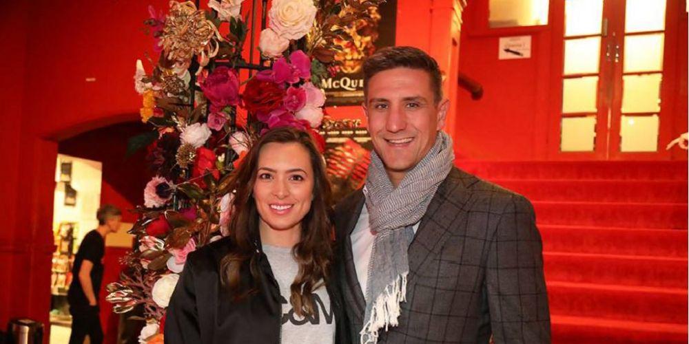 Lauren and Matthew Pavlich