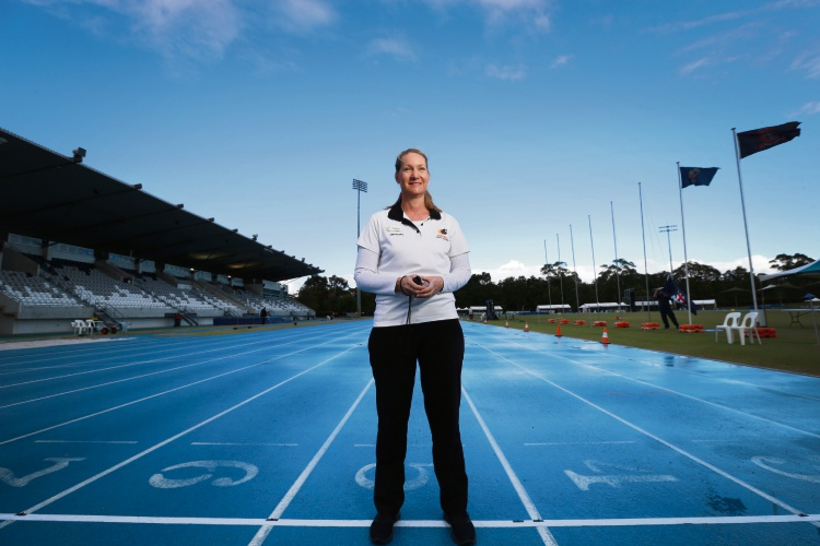 WA Athletics official Kylee McVee.  Picture: Andrew Ritchie.