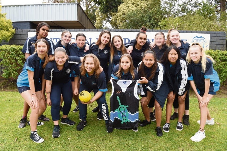The Southern River College team.