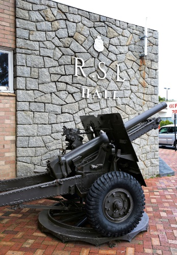 World War II heritage listed gun relocated to new South Perth RSL