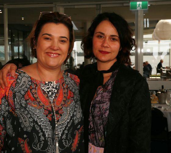 Rennae Martin and Sarah Contos