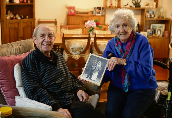 John and Peggy Durbin celebrate their 70th anniversary on September 11.