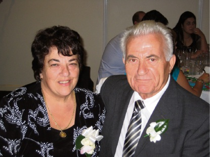 Andrea and Immacolata Moschilla will mark their golden wedding anniversary with a family meal.