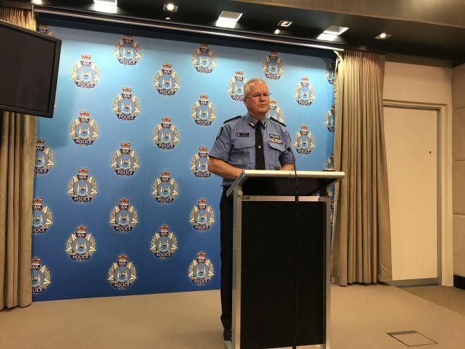 Police Commissioner Chris Dawson. Picture: Kristie Lim