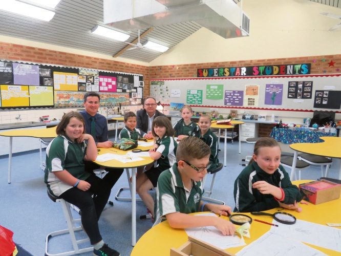 Greenfields Primary School science lab transformation complete