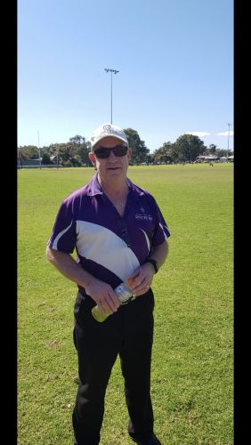 WAAFL Coach of the Year Russell Swanson.