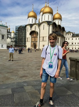 Leeming teen learns about his heritage during international forum in Russia