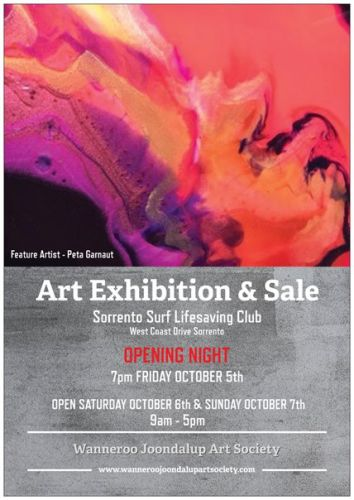 Wanneroo Joondalup Art Society Art Exhibition & Sale