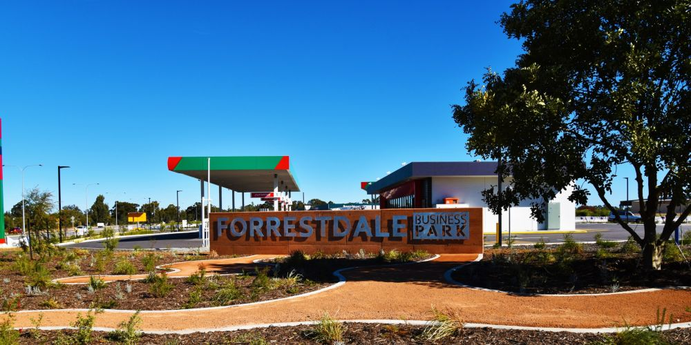 Forrestdale Business Park.