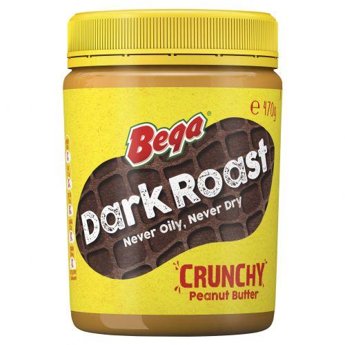 Dark roast peanut butter has a new robust taste.