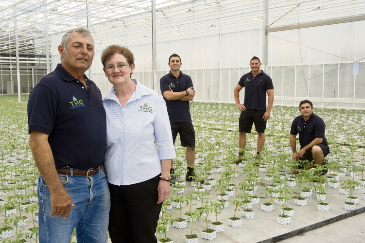 Grower Harry Trandos, pictured with family, will be one of the guest speakers at a Wanneroo Business Association breakfast. (File picture)