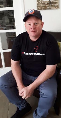 Wannanup man Matt Campbell an Aussie Heart Hero for saving life at Perth Airport