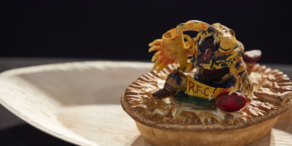 Pinjarra Baker & Patisserie were onto a winner with this footy inspired pie.