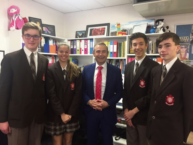 Sorrento: Sacred Heart Students win for mental health app Passion Your Purpose