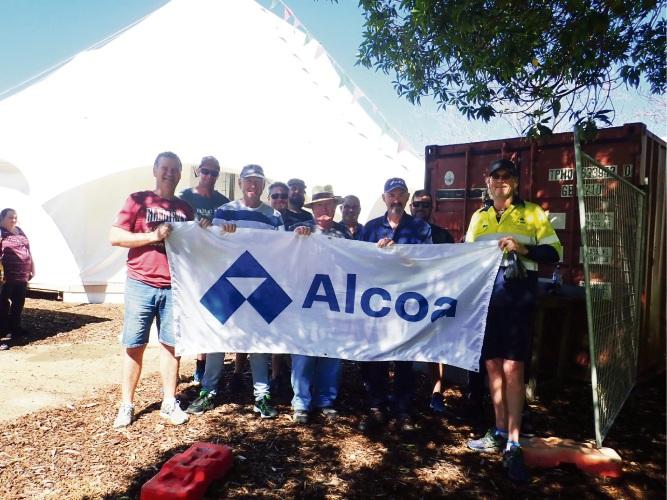 Alcoa Kwinana employees volunteer at CircusWA