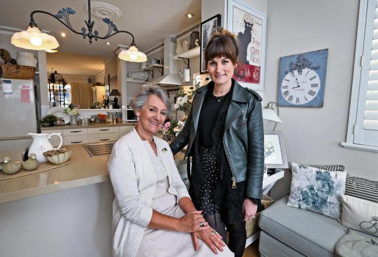 Sonia McManus of Highgate with her daughter Pippa McManus of Embleton. Photo: David Baylis