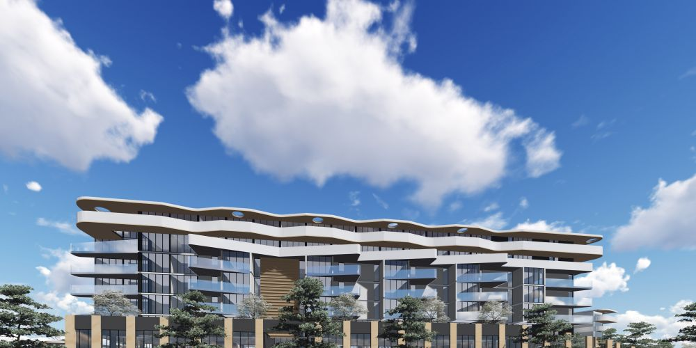 Artist impressions of the proposed development.