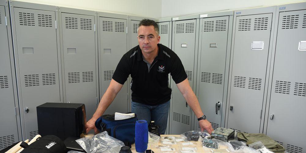 Detective Senior Constable Wes Bunn