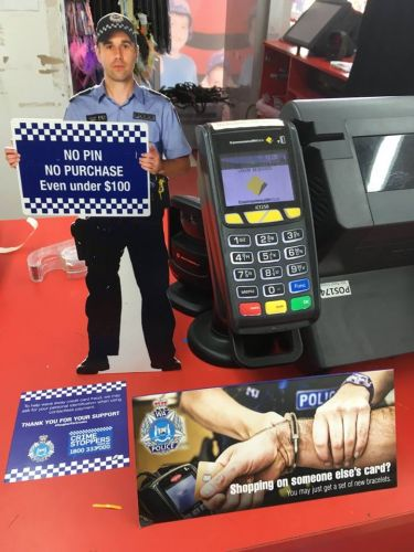 Police are targeting payWave fraud in Cockburn, Fremantle and Melville.