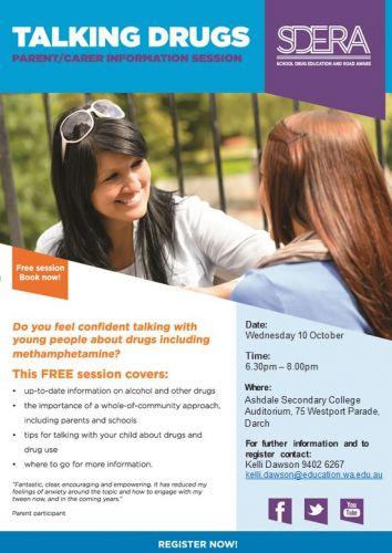 Talking Drugs – Free Information Session
