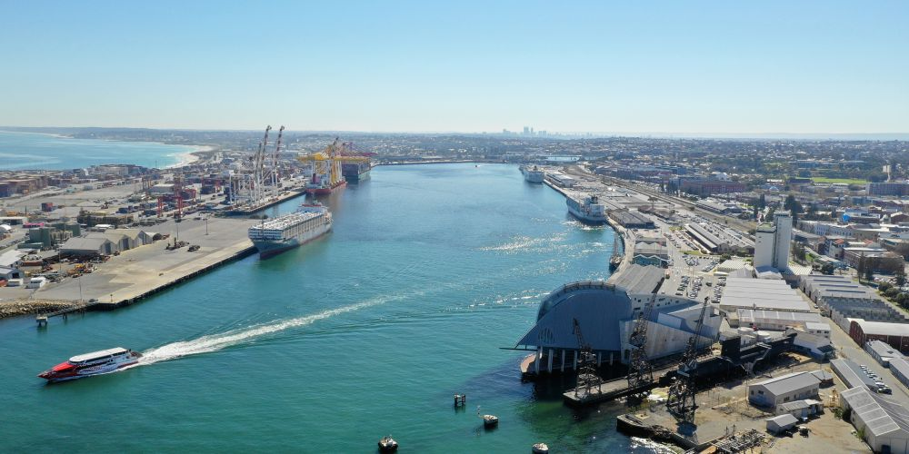 Fremantle Port. Picture: Andrew Ritchie