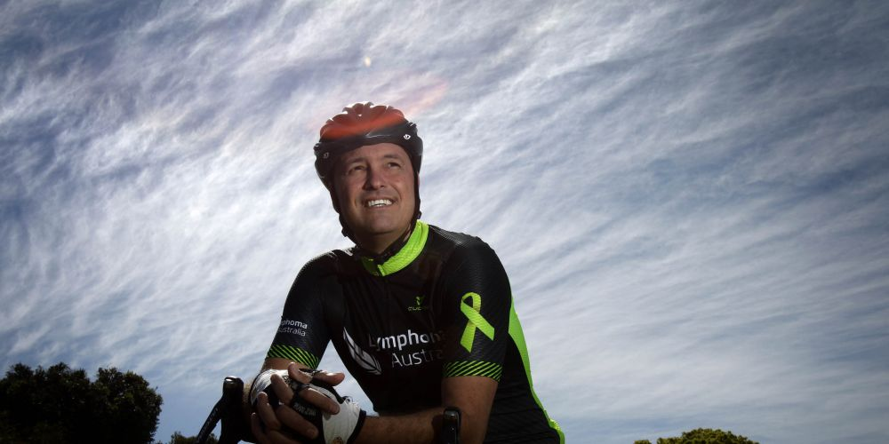 Melville resident Daymon Joseph has put together a second charity ride for Lymphoma Australia. Picture: Marie Nirme.