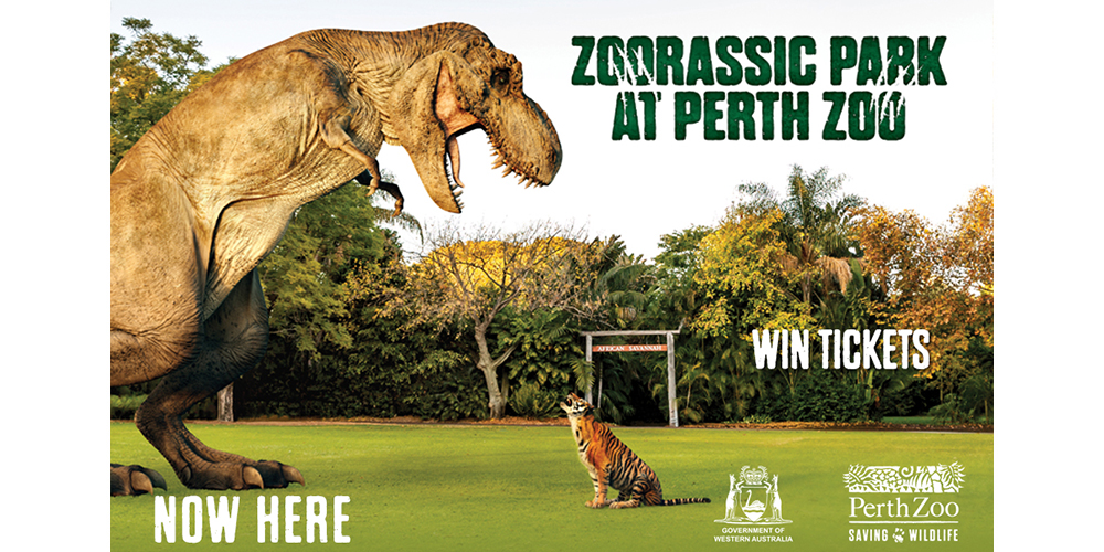 Win Tickets to Perth Zoo's Zoorassic Park