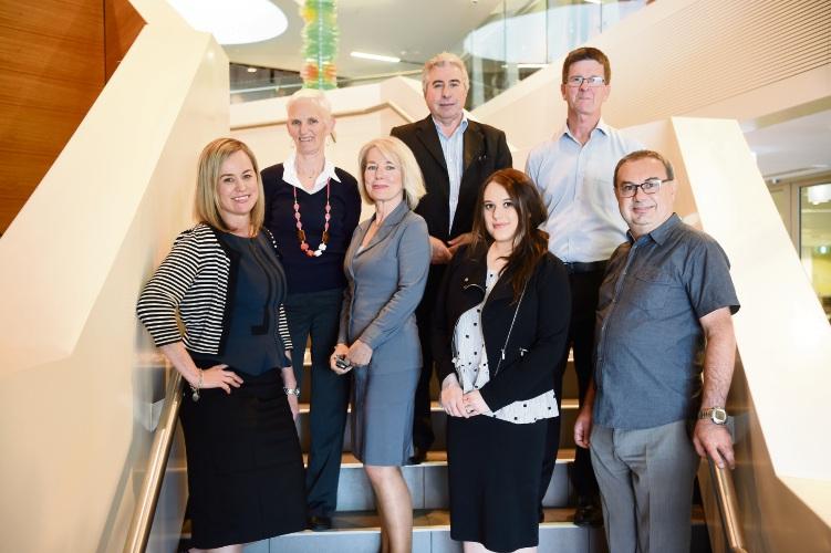 MCCC board members Monique Williams, Jan Chubb, Shelley Tamsitt, Tony Romano (President), Emily Jones, Phil Charles & Steve Zoccoli.