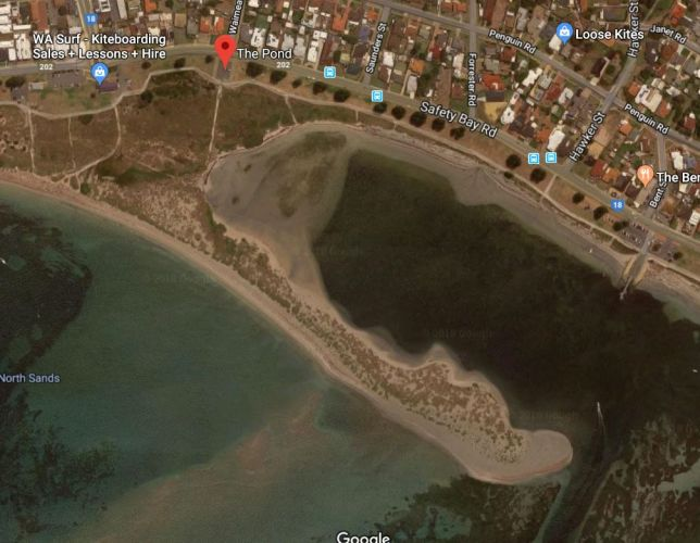 The Pond in Safety Bay. Picture: Google Maps.