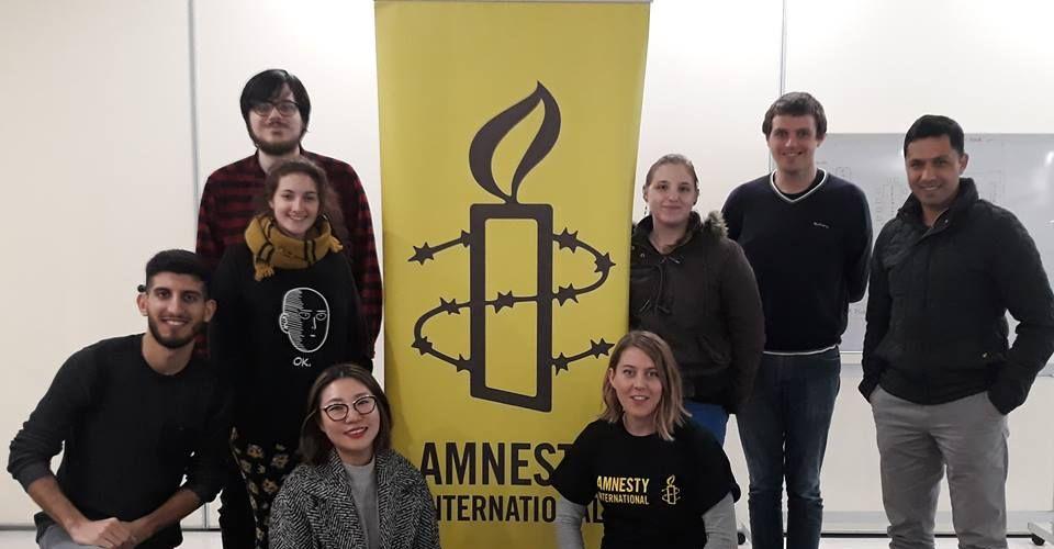 Amnesty International launch in Rockingham