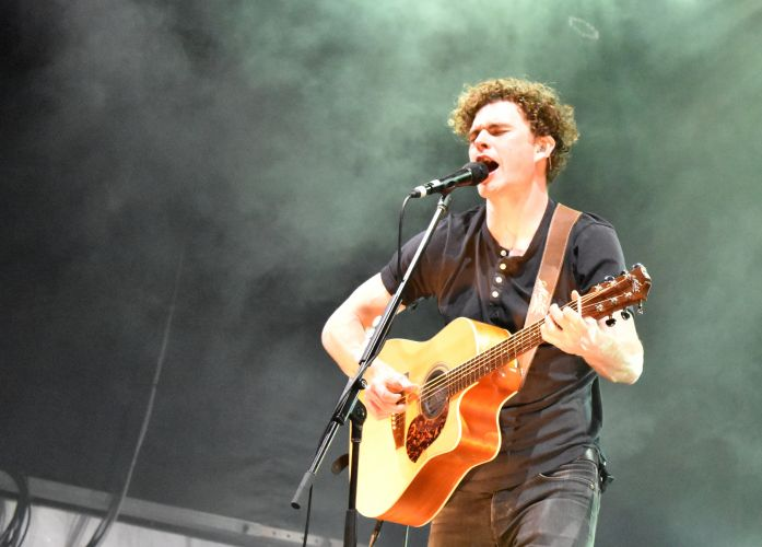 Vance Joy performing at Fremantle Arts Centre on September 23. Picture: Sarah Brookes