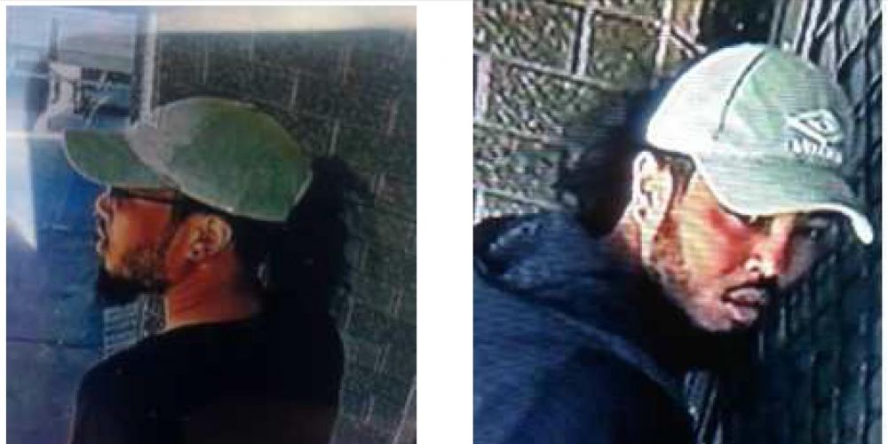 It is believed the man in these photos may be able to help police with this investigation.