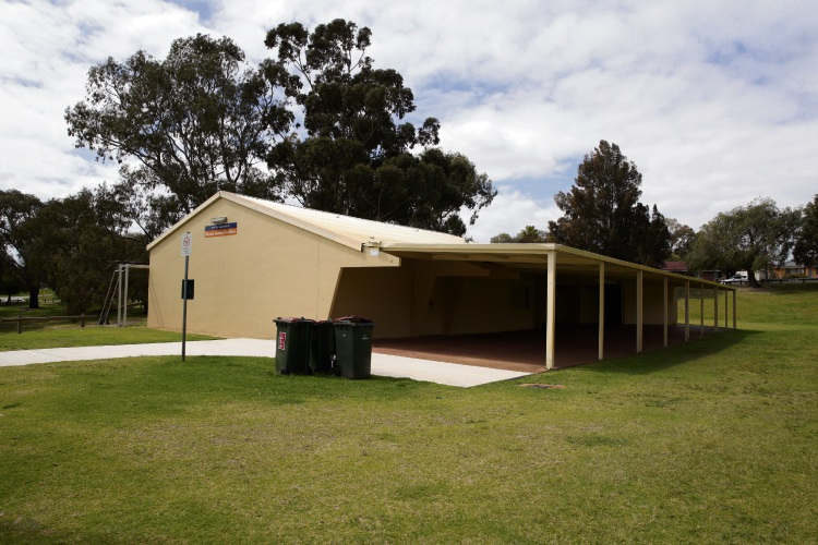 Dennis Cooley Pavilion in Girrawheen. Picture: Martin Kennealey.