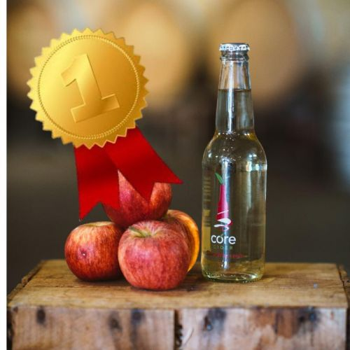 Sparkling Apple – Core Meltdown won champion cider for Core Cider House in Pickering Brook. Picture: Kevin McGinn